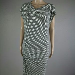 CAbi 614 Monroe Black and White Dress